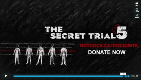 promo for the film project The Secret Trial 5