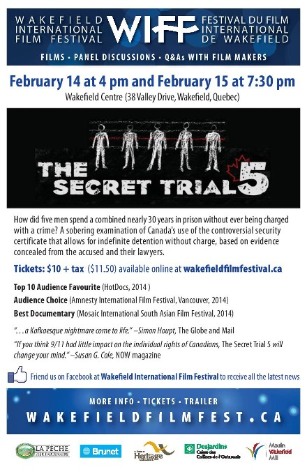 Secret Trial 5 film screening