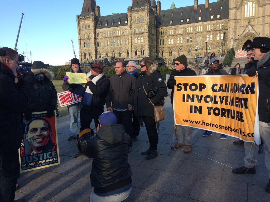 rally on Parliament Hill, December 8, 2017