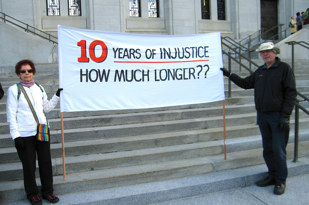 10 Years of Injustice